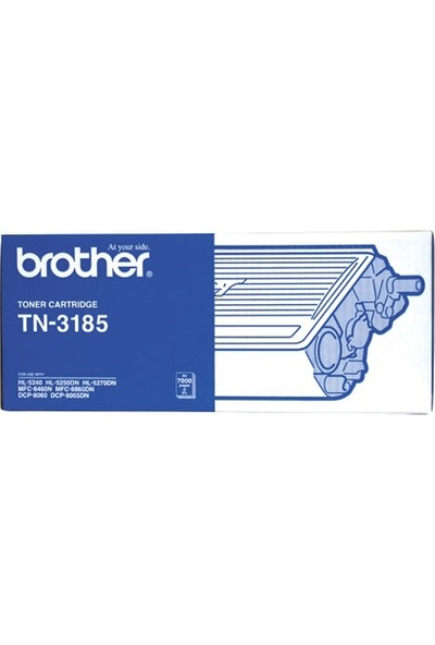 Brother Tn-3185 Hl-5240 Toner Dcp-8060 / 8860