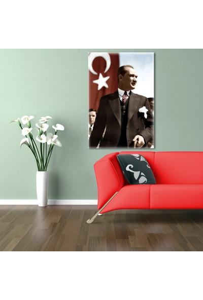 Özverler Atatürk Canvas Tablo