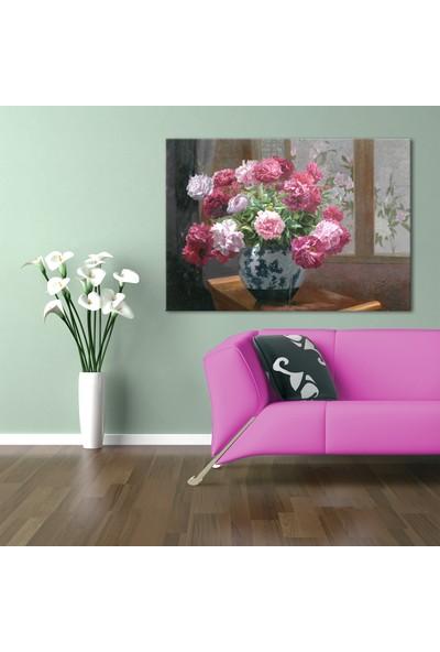 Özverler Çiçek Canvas Tablo