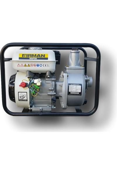 Firman Motor SGP 50 Benzinli İkili Su Pompası