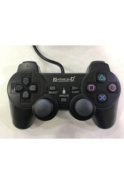 Kontorland Ps 3007 2.5 Metre Kablolu Ps3 Pc Gamepad Joystick Kol