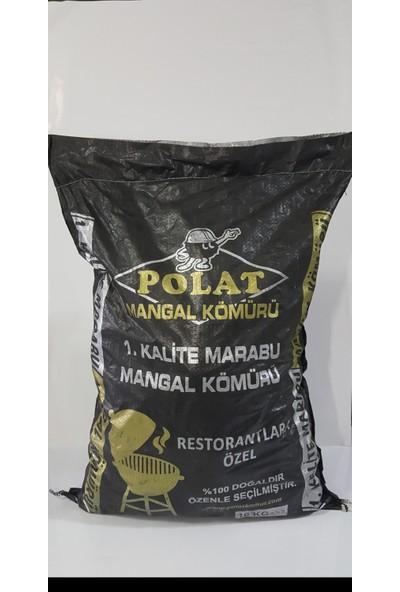 Polat Mangal Kömürü 10 Kg İthal Marabu Kömürü