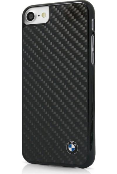Remeto Bmw İphone 7 Siyah Carbon Fiber Kapak