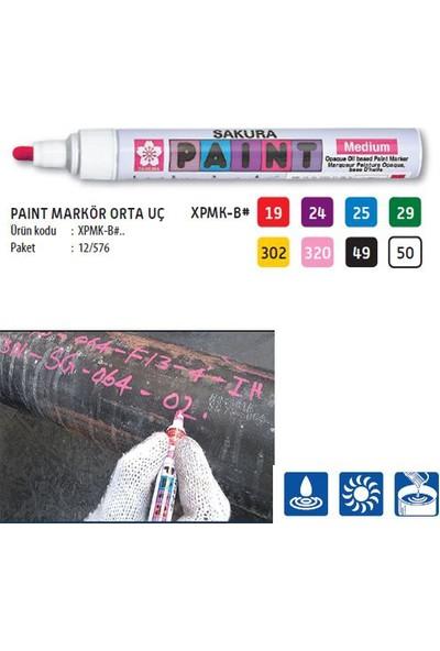 Sakura Paint Marker Kalem Medium Siyah