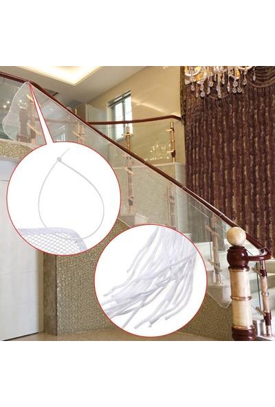 Agubugu Baby Güvenli Merdiven Ve Balkon Güvenlik Filesi / 3 Metre x 80 Cm