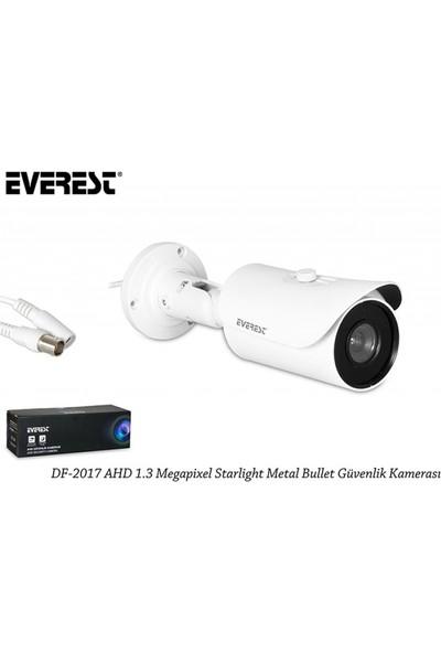 Everest Df-2017 Ahd 1.3 Megapixel Starlight Metal Bullet Güvenlik Kamerası