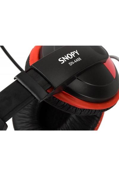 Snopy Sn-4488 Profesyonel Mikrofonlu Kulaklık