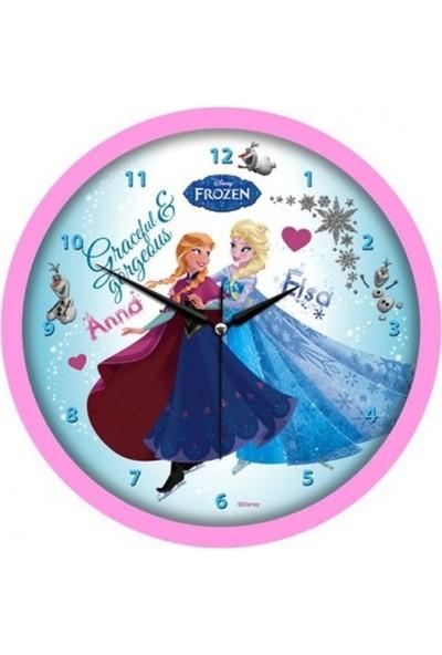 Disney Lisanslı Frozen Duvar Saati