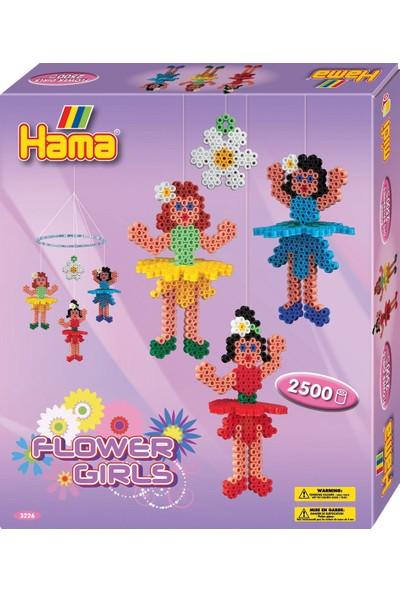 Hama Boncuk Kutu - Çiçek Kızlar Askıda