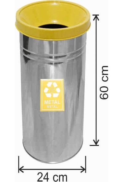 Avrupa Tedarik Geri Dönüşüm Çöp Kovası Paslanmaz