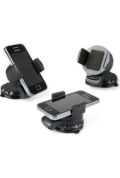 Wildlebend Araç İçi Vantuzlu Telefon Tutucu 360 Derece Dönebilir