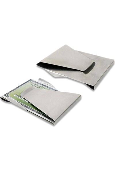 Wildlebend Slim Clip Çelik Para ve Kredi Kartı Cüzdanı