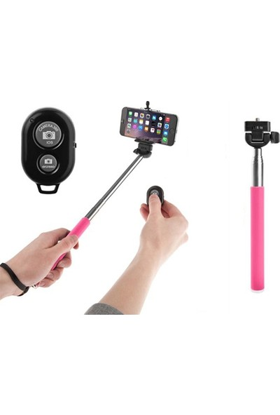 Wildlebend Selfie Çubuğu (Bluetooth Kumandalı)