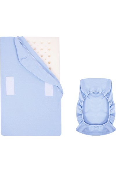 Sevi Bebe Reflü Yatak Kılıfı Mavi