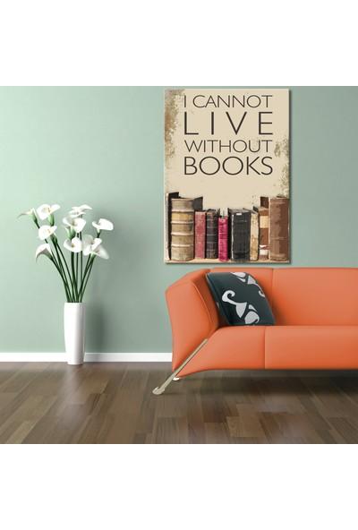 Özverler Lıve Books Kanvas Tablo