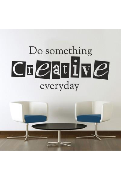 Hepsi Duvar Do Somethink Creative Everyday Duvar Sticker