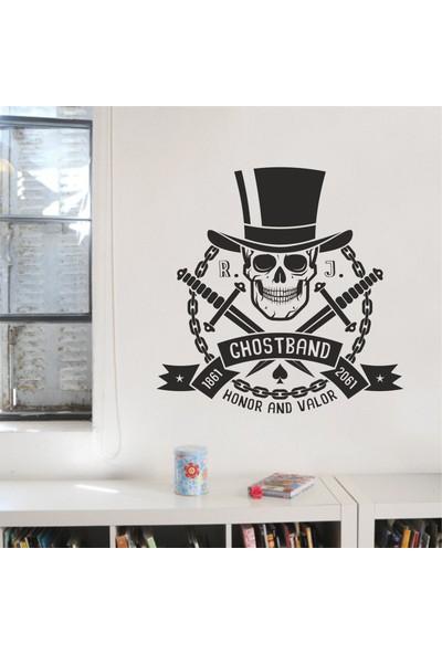 Hepsi Duvar Ghostband Duvar Sticker
