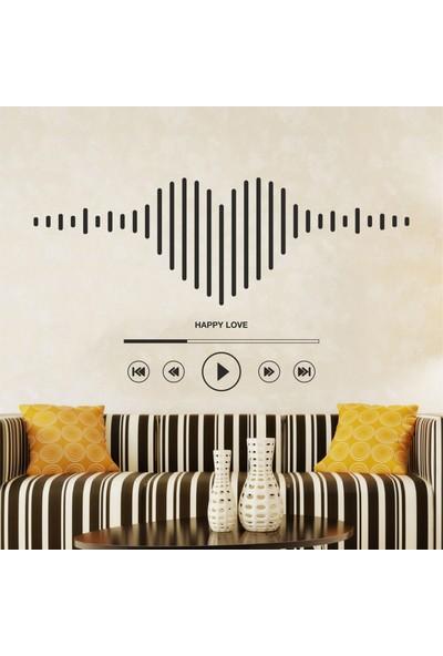 Hepsi Duvar Music Love Duvar Sticker