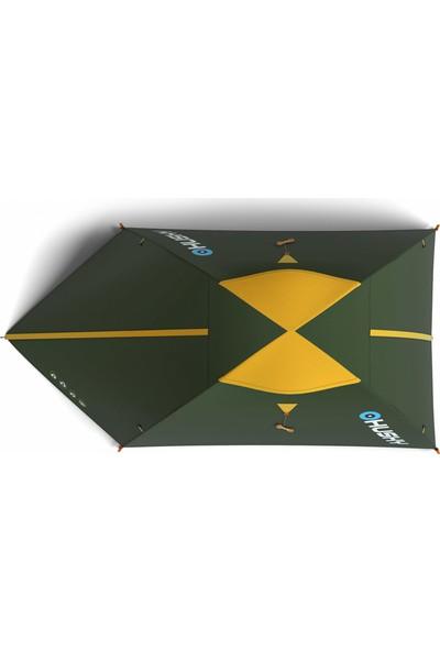 Husky Bızam Yeşil Classic 2 Kişilik Çadır