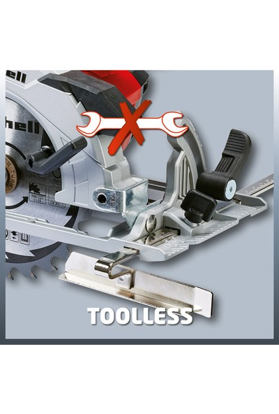 Einhell Şarjlı Daire Testere Te-Cs 18 Li-Solo (150X10Mm Bıçak, 48 Mm Kesme Kapasitesi)