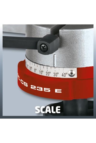 Einhell Zincir Bileme Makinası Gc-Cs 235 E (235W, 145Mm, Şefaf Pencere Ve Aydınlatma, Tepe Açısı Ayarı, Derinlik Ve Açı Ayarı)