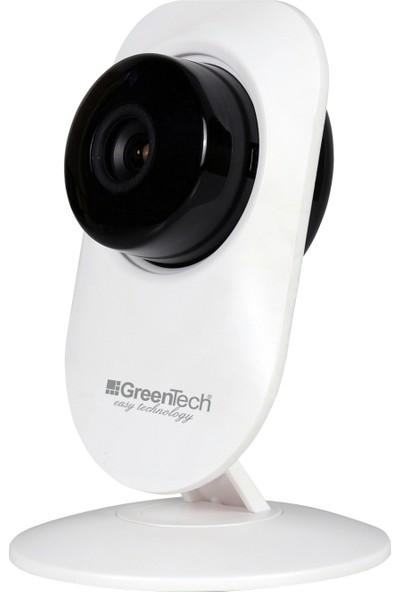 Greentech GT-IP21HD Sabit Kablosuz Gece Görüşlü Güvenlik ve Bebek Kamerası