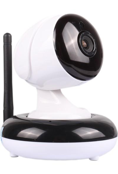 Greentech GT-IP35HD Hareketli Kablosuz Gece Görüşlü Güvenlik ve Bebek Kamerası