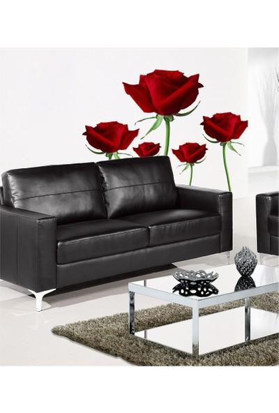 Roses Dev Duvar Stıcker