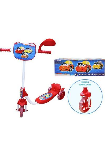 Can-Em Oyuncak Beren 3 Tekerlekli Çılgın Arabalar Scooter