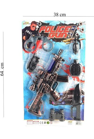 Can-Em Oyuncak Kartela Büyük Polis Seti