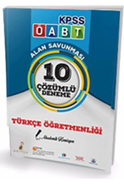 2017 Öabt Türkçe Öğretmenliği 10 Çözümlü Deneme