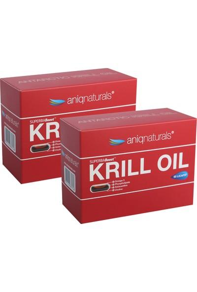 Aniqnaturals Superba boost Krill Oil Yağı 60 Licaps 2 KUTU
