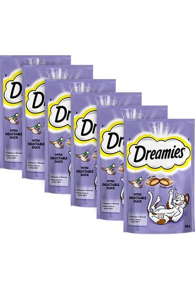 Dreamies Ördekli Kedi Ödülü 60gr 6'lı