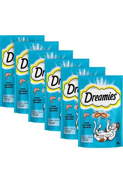 Dreamies Somonlu Kedi Ödülü 60gr 6'lı