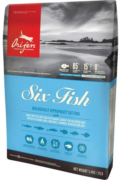 ORIJEN Six Fish Balık Etli Tahılsız Kedi Maması 1,8 kg
