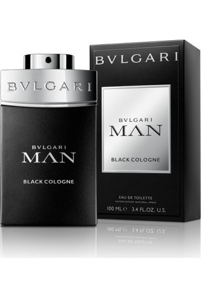 Bvlgari Man Black Cologne Edt 100Ml Erkek Parfüm