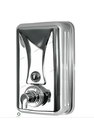 Arı Metal Köpük Sabun Makinesi Parlak Krom Paslanmaz Çelik 1 Lt