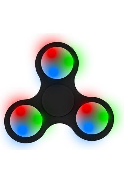 Fidget Spinner Led Işıklı Stres Çarkı