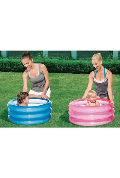 Bestway şişme Bebek Havuzu 3 Halkalı Mavi 70Cm X 30Cm 51033