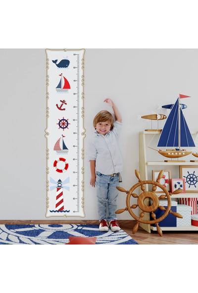 DekorLoft Denizci Boy Ölçer Sticker DBC4