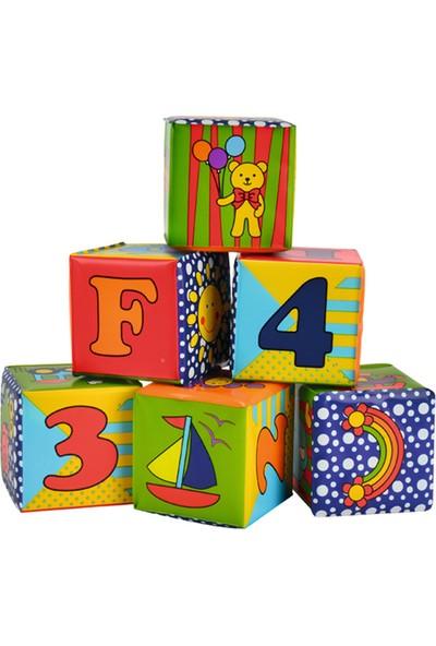 Simba ABC Soft Stacking Blocks Blok Set
