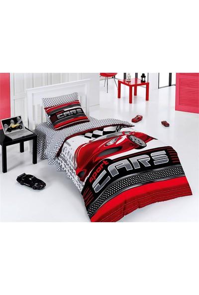 Belenay Tek Kişilik Uyku Seti Sports Cars Kırmızı