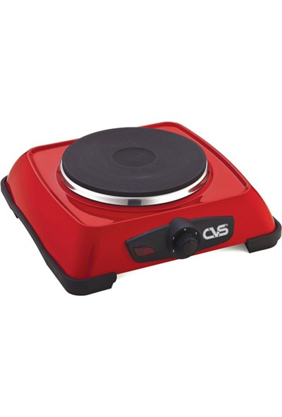 Cvs Harlı Elektrikli Tekli Ocak Dn-2400 Kırmızı
