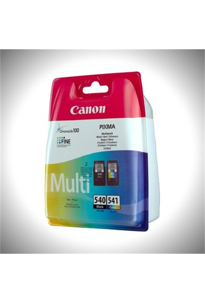Canon Pg540+Cl541 Mürekkep Kartuş Set (540+541)