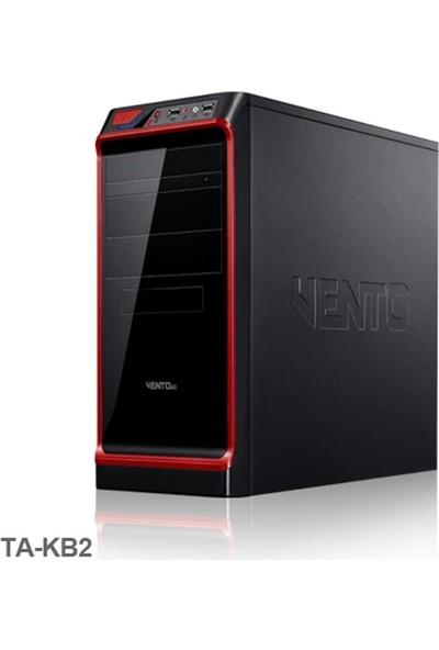 Vento Ta-Kb2 600W Atx Kasa Siyah-Kırmızı
