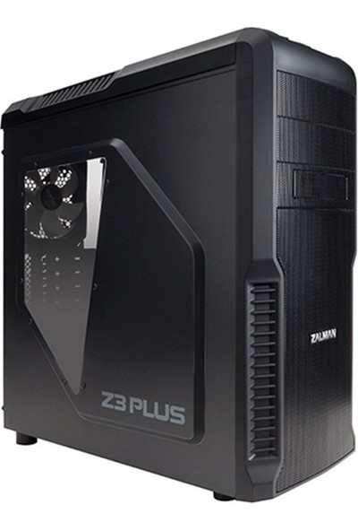Zalman Z3 Plus 600W Mid Tower Kasa/Siyah