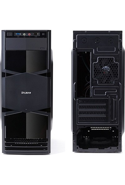 Zalman Zm-T3 Mini Tower Siyah Kasa