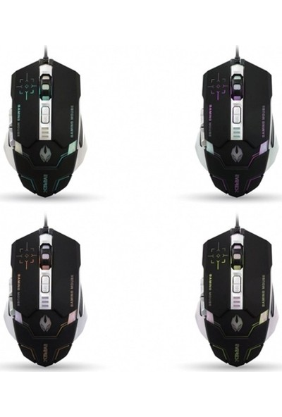 Everest Sgm-X9 Usb Siyah Oyuncu 2 İn 1 Pad + Mouse