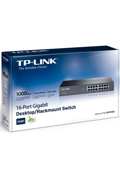 Tp-Link Tl-Sg1016D 10/100/1000Mbps Rackmount Swich
