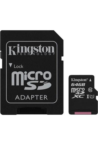 Kingston 64Gb Micro Sd Class 10 Cl10 Sdc10G2/64Gb